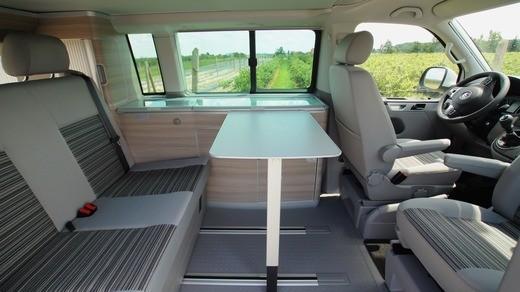 vw t5 california comfortline with pop up 59458403. Black Bedroom Furniture Sets. Home Design Ideas