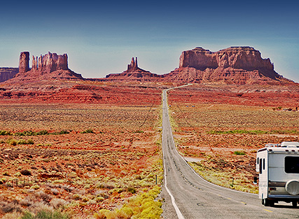 RVs for national park vacations – Monument Valley