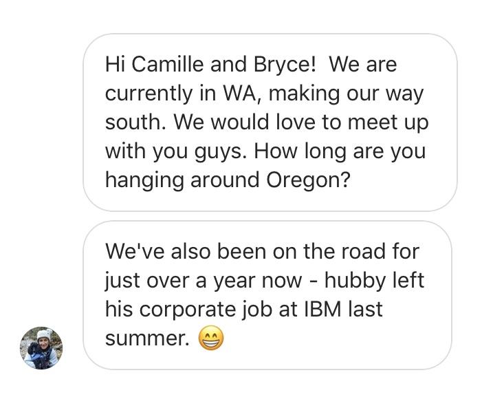 making rv friends on instagram