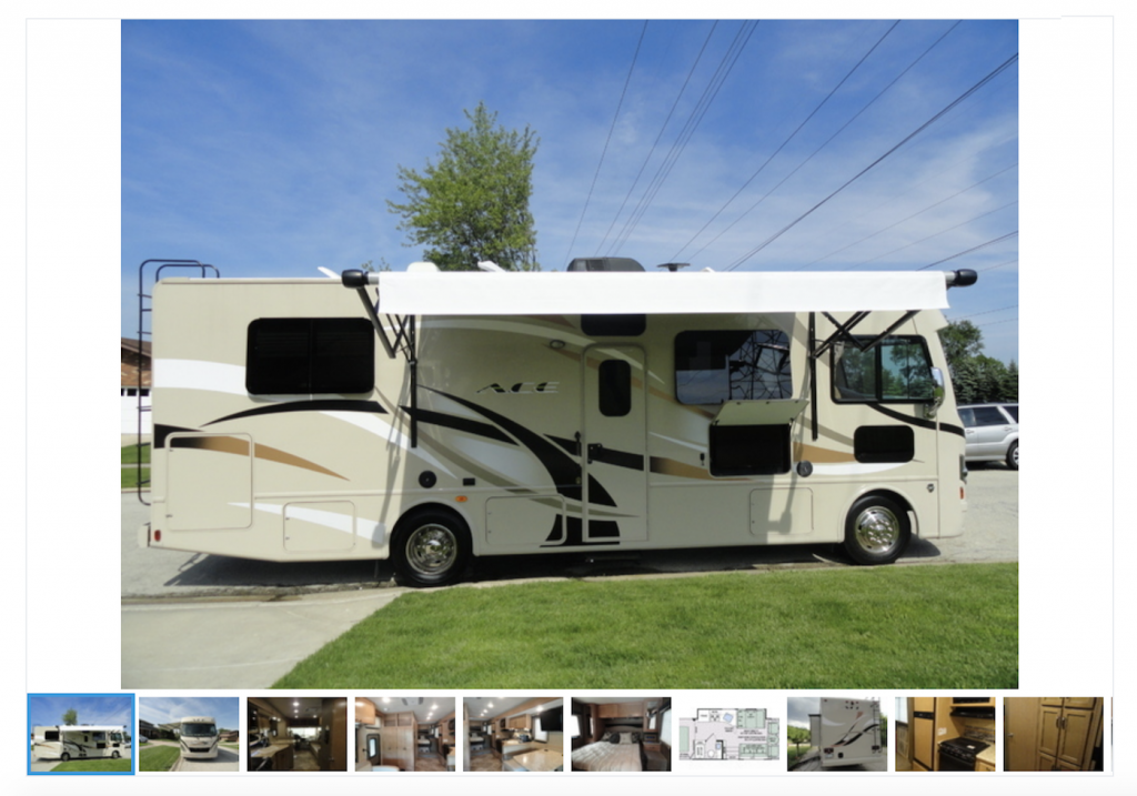 take lots of photos of your RV