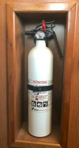 rv fire extinguisher