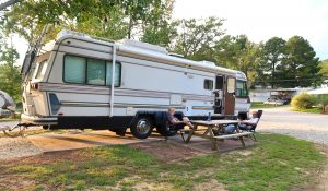 make reservations at rv park