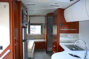 class b rv van interior inside campervan