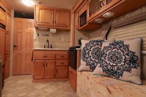 master bedroom rv door