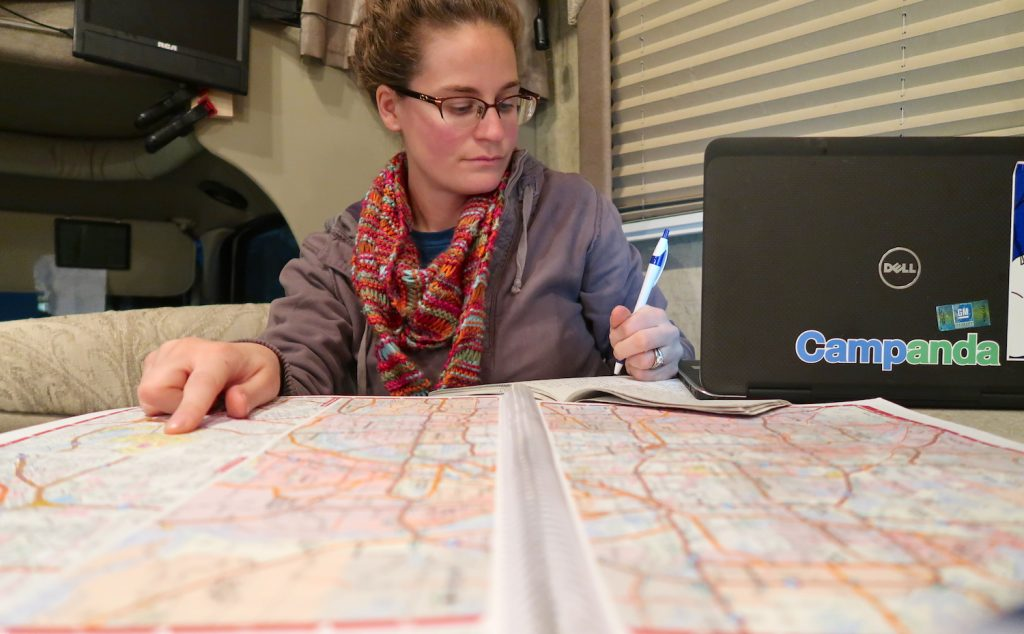 plan your rv route tools and maps rv road tripping