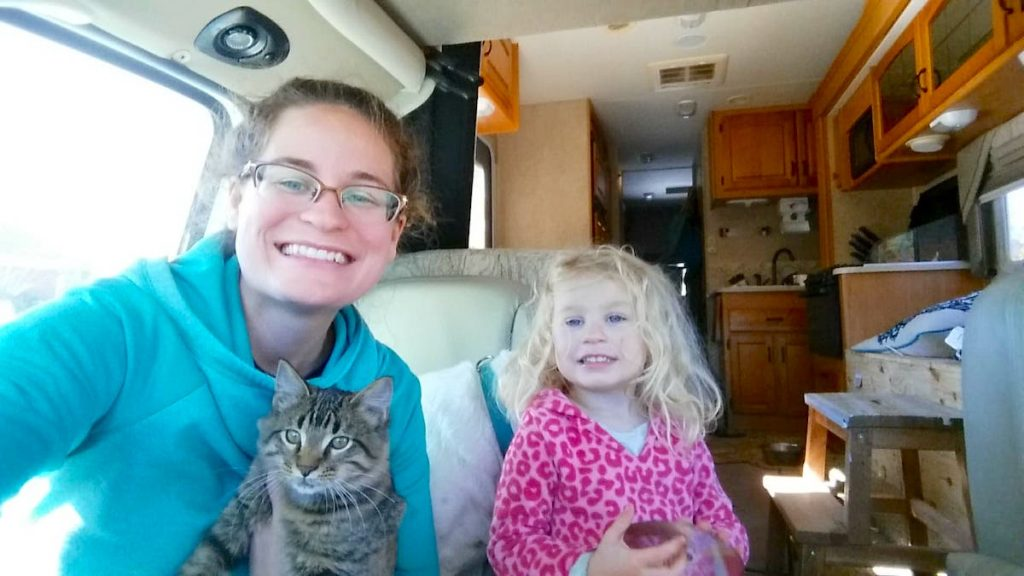 rv blogger rving with family and pets