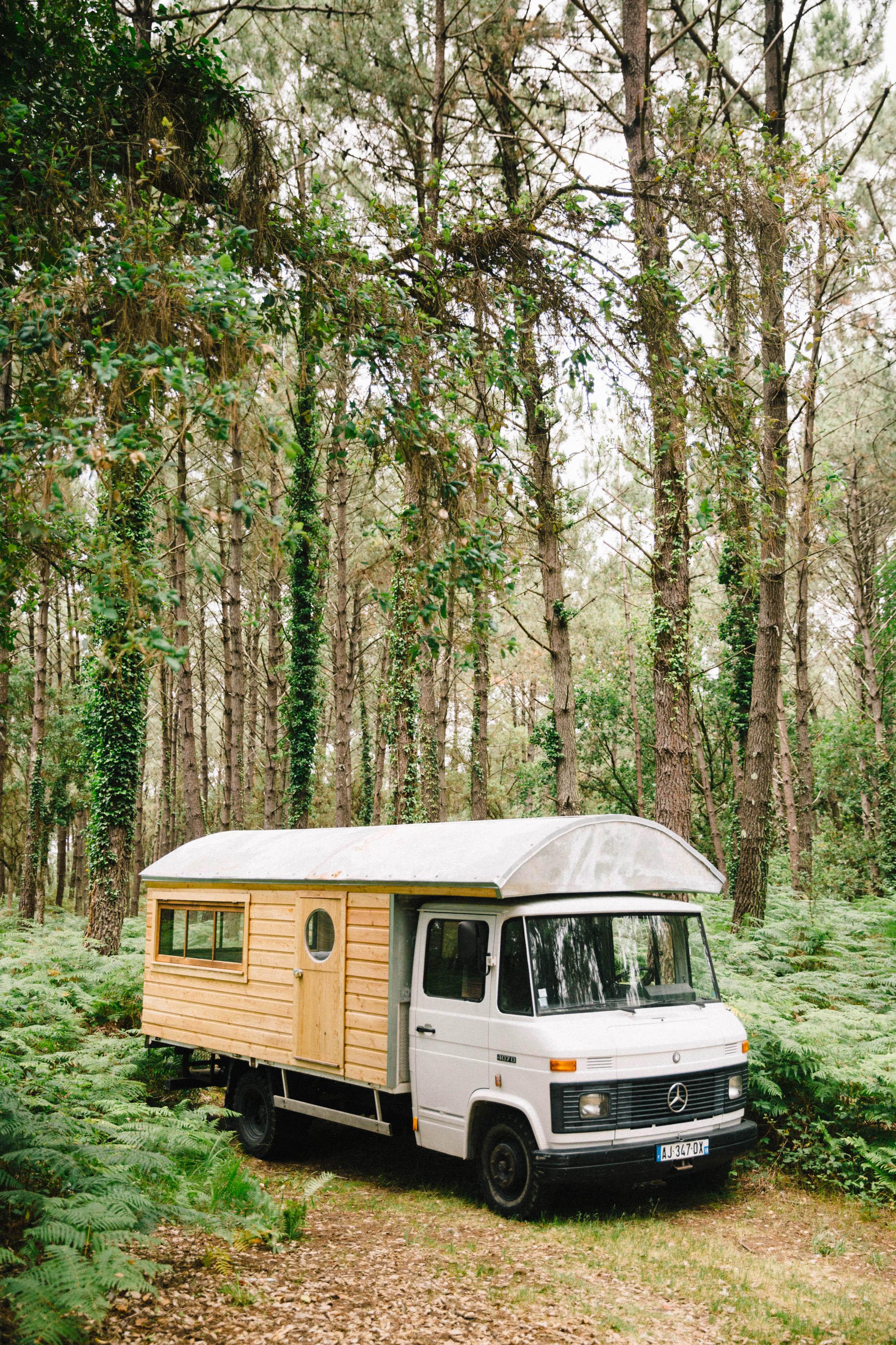 handmade custom rv truck camper bus