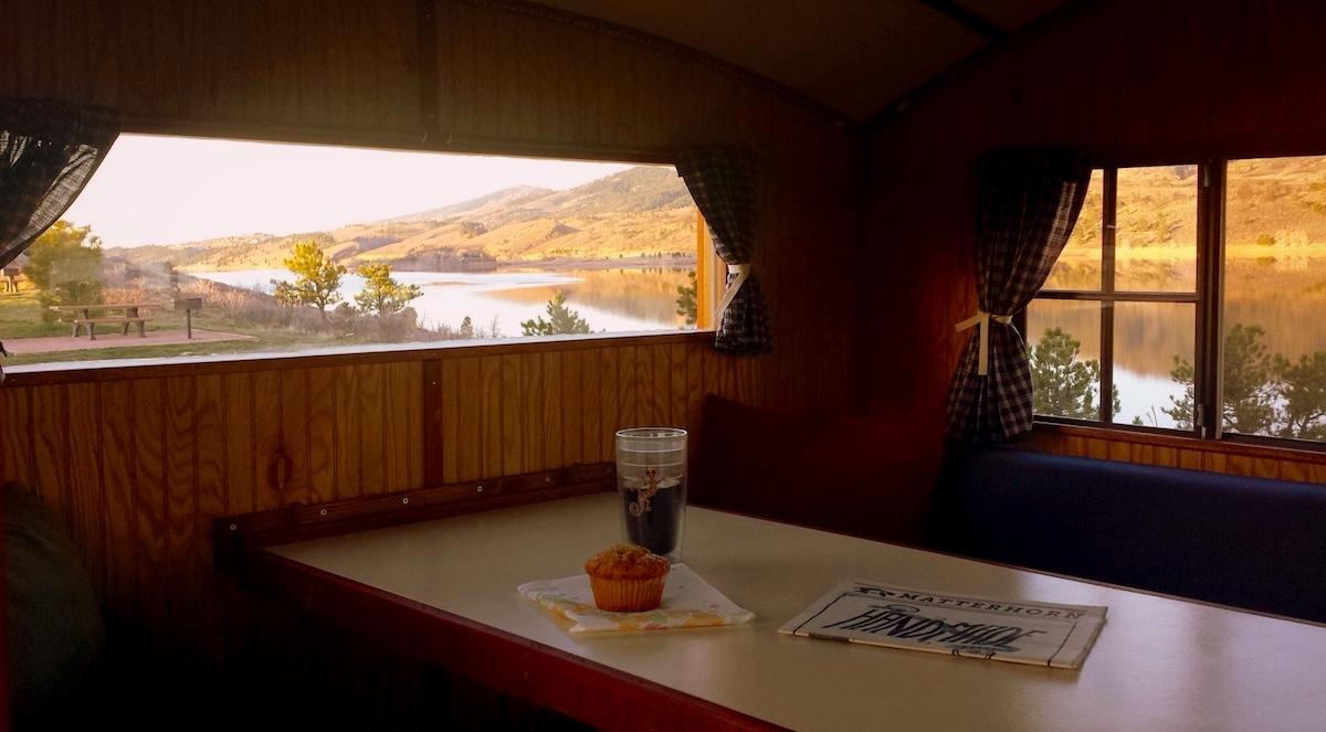 camper lake view camping trailer terrapin