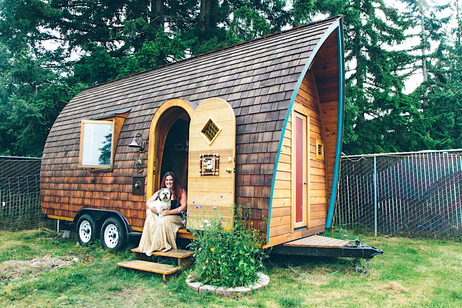 tiny house shingle roof trailer zyl vardos