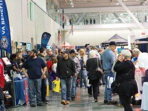 rv show boston rv show crowds