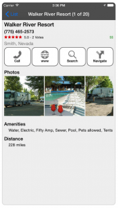 rv parks campgrounds app