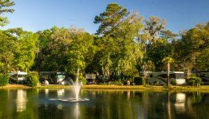 hilton head island rv resort luxury rv park south carolina