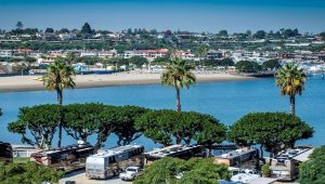 newport beach southern california rv resort luxury rv park newport dunes