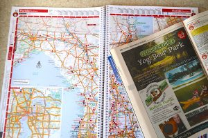 plan your rv trip rv map route