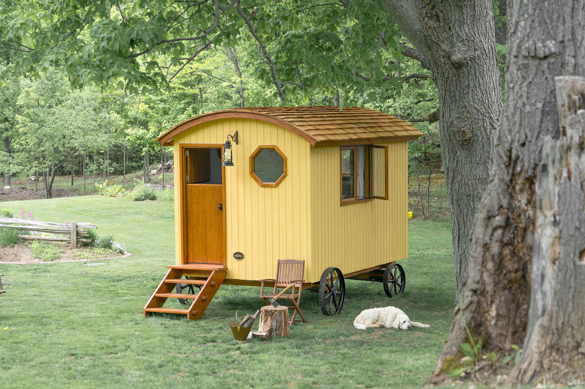 shepherd hut garden mobile home wagon for sale