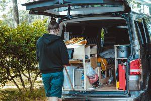 van life storage interior rv travel