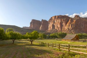 capitol reef national park utah ranch rving