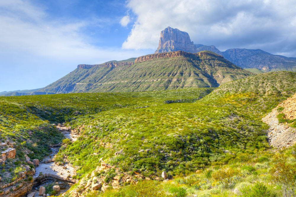 guadalupe mountains texas rving national park hiking
