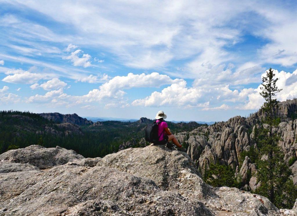 black elk peak south dakota hiking rv vacation