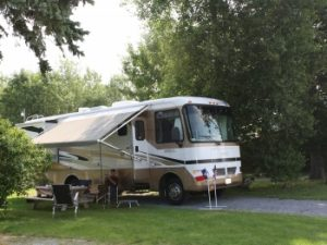 thousand islands 1000 rv campground upstate new york pull in sites