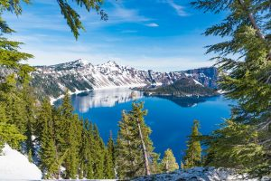 crater lake national park oregon rv camping