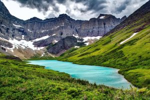 cracker lake glacier national park rv camping