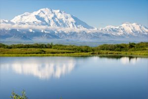 denali reflection lake alaska rv camping denali national park