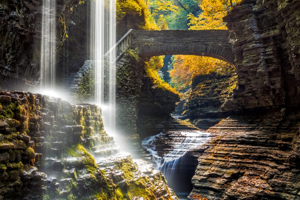 watkins glen state park finger lakes new york hiking rving
