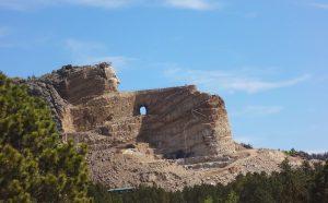 crazy horse memorial rv vacation south dakota route black hills