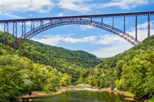 new river gorge bridge national river west virginia rv camping
