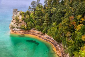 lake superior miners castle pictured rocks national lakeshore rv camping