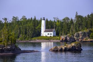 isle royale lighthouses national park lake superior rv camping