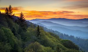 great smoky mountains national parks rv camping driving