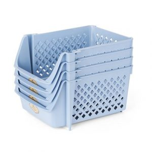 stackable bins crates rv closet motorhome organization