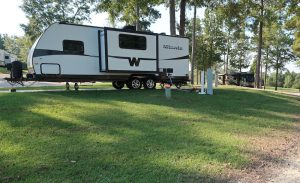 rv campground campsite types of rv camps hookups