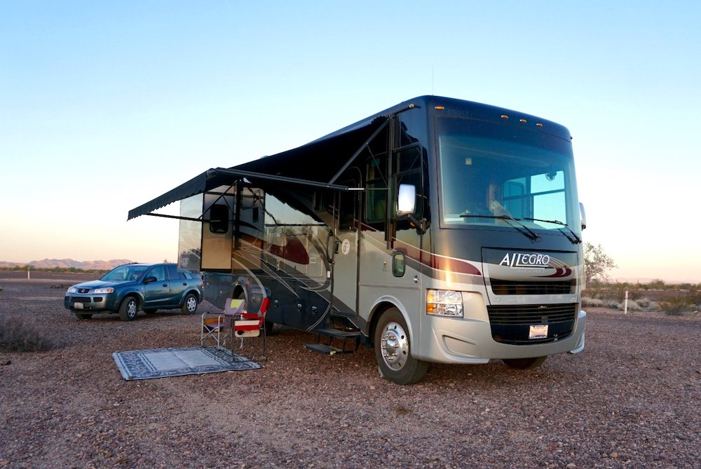 Tiffin motorhome class a rv buying boondocking in tiffin