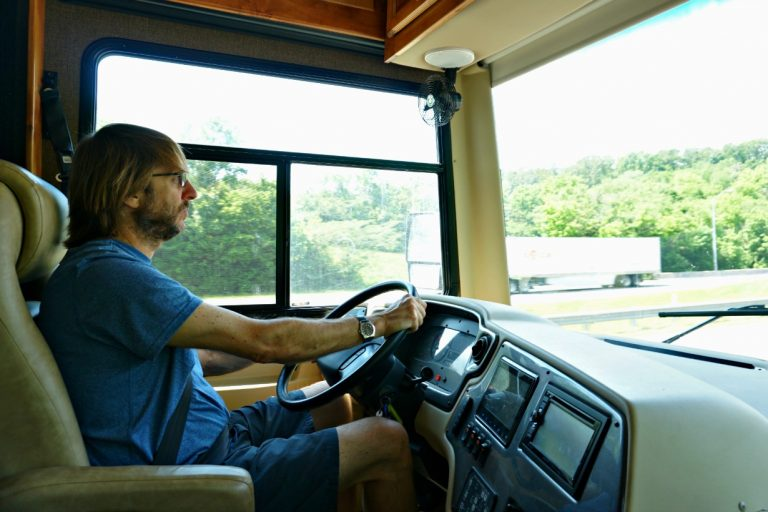 Driving A Class A Motorhome For The First Time