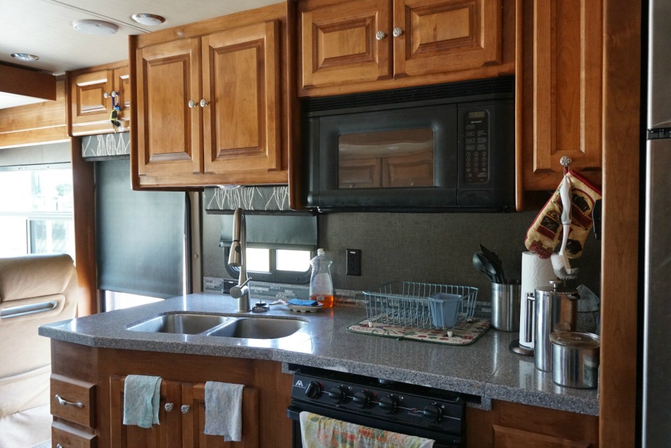 tiffin allegro kitchen rv floor plan large kitchen best rv for chefs