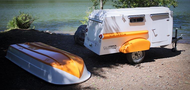detachable roof trailer boat the american dream retro trailer boat